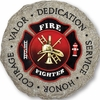 Firefighter Plaque/Stepping Stone