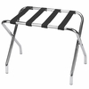 Folding Luggage Rack Chrome