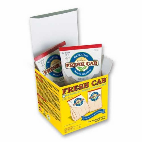 Fresh Cab Rodent Repellant - 4 pack