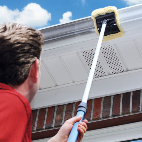 Gutter Cleaning Pad With Pole