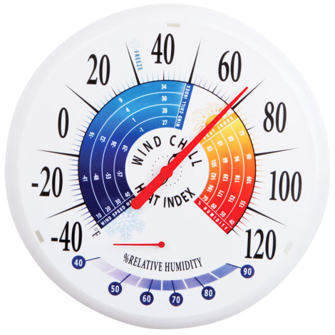 Heat Index Thermometer