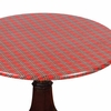 Holiday Tartan Vinyl Table Cover