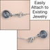 Locking Magnetic Clasps - Set of 4