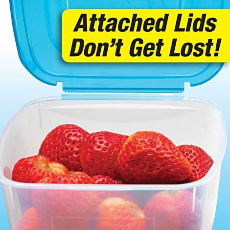 Mr. Lid 11pc Set of Containers