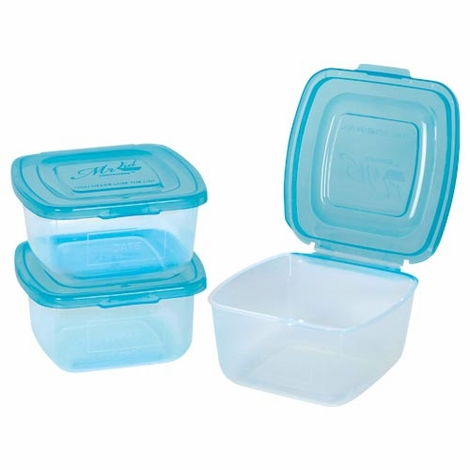 Mr. Lid 16 oz. Containers - Set of 3