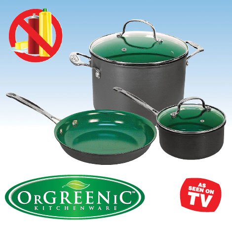 Orgreenic 5pc Cookware  Set