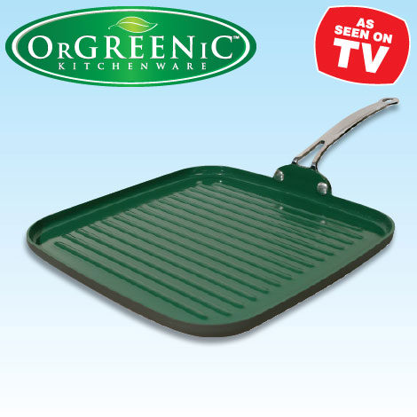 Orgreenic Ceramic Grill Pan