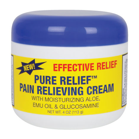 Pure Relief Pain Relieving Cream