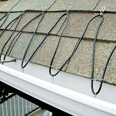 Electric Roof Ice Melt Cable Systems