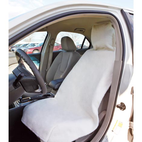 Sherpa Car Seat Cover