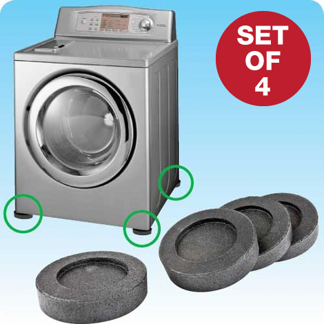 VibeAway Laundry Shock Absorber - Set of 4