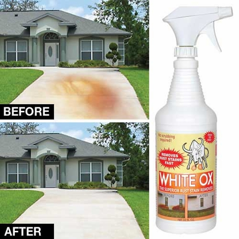White Ox  Rust Stain Remover Spray