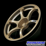 Advan Wheels - RGII - Gold Color (17 x 7.5) +41 mm (4 x 100) Set of 4 Wheels