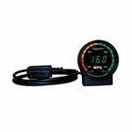Auto Meter (9100) Ecometer, Fuel Consumption Eco Gauge (52 MM = 2 1/16 Inch)