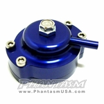 B&M (46056)COMMAND FLO, FUEL PRESSURE REGULATOR MODIFIER KIT, BLUE COLOR (MITSUBISHI ECLIPSE (1995-99)