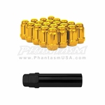 Drop Engineering - Small Diameter - Closed End Lug Nuts (12 x 1.25 MM)