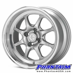 Enkei Wheels - J Speed - Silver Machined Lip (15 x 8.0) +25 mm (4 x 100)