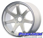Gravity Wheels - Gullflame - Pearl White Paint