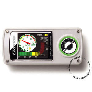 GReddy (16001600) Intelligent Informeter, Silver Shell, Universal Applications