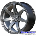 JIC Wheel - J Force 07 - Silver Color (17 x 9.0) +30 ET (5 x 114.3 MM)
