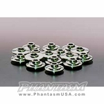 JUN (1005M-H001) Titanium Retainers - Complete Set