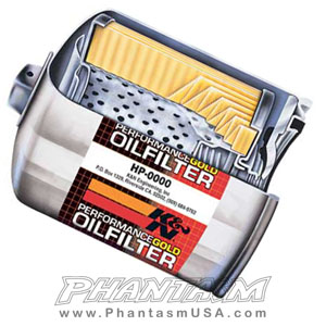 K&N - HIGH PEFORMANCE OIL FILTERS