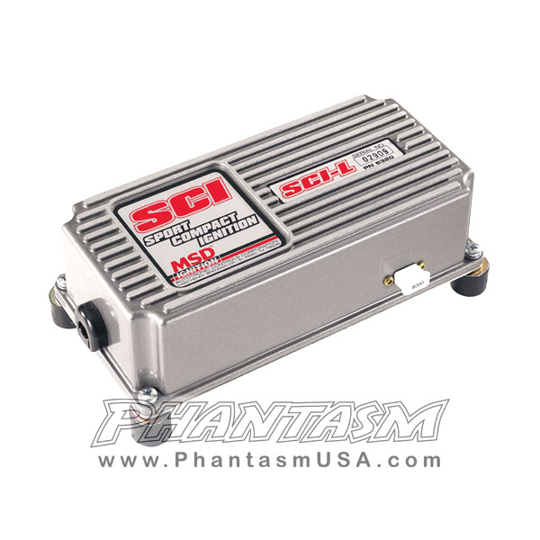 msd 6320 scil ignition system amplifier with built in rev limiter