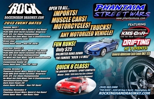 Phantasm Street Wars (October 6, 2013) Rockingham Dragway, NC