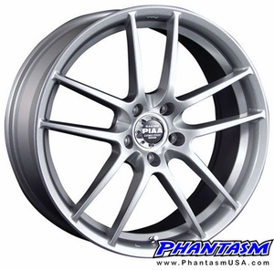 PIAA Wheel - Super Rozza Mono - Silver Color (18 x 7.5) +48 mm (5 x 114.3)