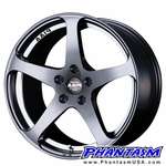PIAA WHEELS - FRS - GUN METALLIC COLOR (17 X 7.0) +42 ET (4 X 100 MM)