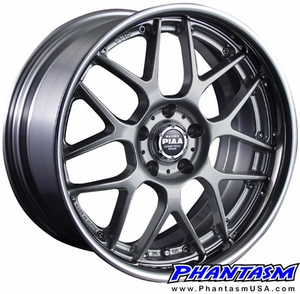 PIAA Wheels - Super Mesh 2 Piece - Titanium Color (Save 15%)