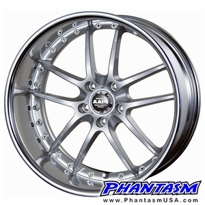 PIAA Wheels - Super Rozza - Silver Color (18 x 7.5) +48 mm (5 x 114.3) 60 mm Lip