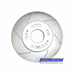 Powerslot - Slotted Brake Rotor - Acura SLX, Honda Passport, Isuzu Amigo, Rodeo, Trooper (567PSL)(126.43013SL) Front / Left