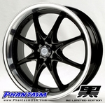Velox Wheels - VX8 - Gloss Black Color, Machined Lip