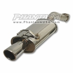 Vibrant (1622) Cat Back Exhaust System, with Street Power Muffler, Honda Civic Si (2006-11) 4 Door, Sedan