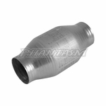 VIBRANT (7100) 2.25 INCH, HIGH FLOW CATALYTIC CONVERTER WITH METAL CORE