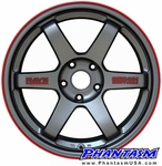 Volk Racing Te37 - Seibon Edition (18 inch x 4 Wheels) Mitsubishi Lancer EVO 7, 8, 9, 10