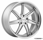 Vossen Wheels - VVS086 - Matte Silver Machined, Stainless Lip (Save 15%)