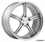 Vossen Wheels - VVS087 - Matte Silver Machined, Stainless Lip (Save 15%)