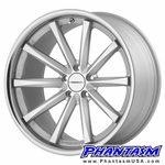 Vossen Wheels - VVSCV1 - Matte Silver Machined, Stainless Lip (Save 15%)