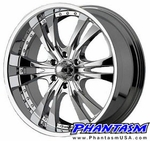 Voxx Wheels - Style 792 - Chrome Finish