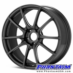 WedsSport Wheels - SA55M - Matte Gray, Silver Machining (Save 15%) MGM