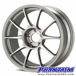WedsSport Wheels - TC105N - Titanium Silver (17 x 8.0) +42 mm (5 x 114.3)