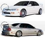 Wings West (890314) Touring Style, Complete Lip Kit, Honda Accord (1996-97) Sedan