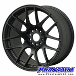 XXR WHEELS - STYLE 530 - FLAT BLACK COLOR (SAVE 20%)