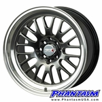 XXR Wheels - Style 531 - Chromium Black Color, Machined Lip (Save 20%)
