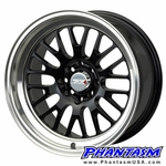 XXR Wheels - Style 531 - Gloss Black Color, Machined Lip (Save 20%)