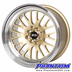 XXR Wheels - Style 531 - Gold Color, Machined Lip (Save 20%)