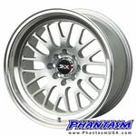 XXR Wheels - Style 531 - Hyper Silver Color, Machined Lip (Save 20%)