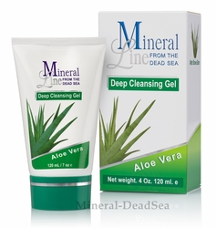 Aloe Vera, Deep CLEANSING Gel